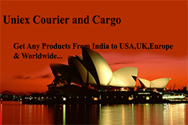 courier to usa from india